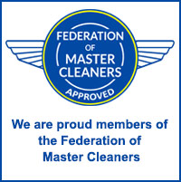Member of The Federation of Master Cleaners in Kent